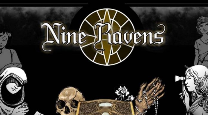 Logotipo de Nine Ravens