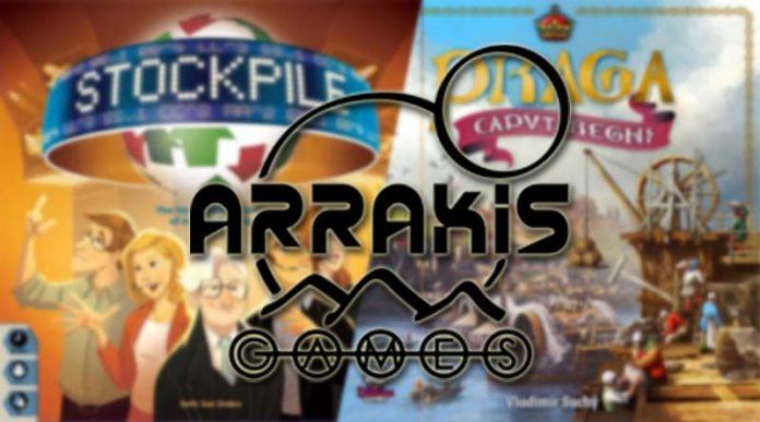 Las novedades de Arrakis Games para enero de 2021