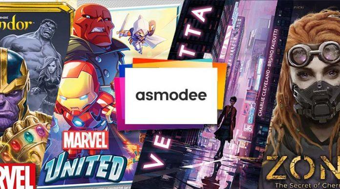 Novedades de Asmodee para enero de 2021