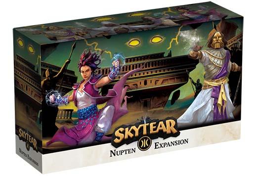 Portada de la expansión de Skytears Nupten