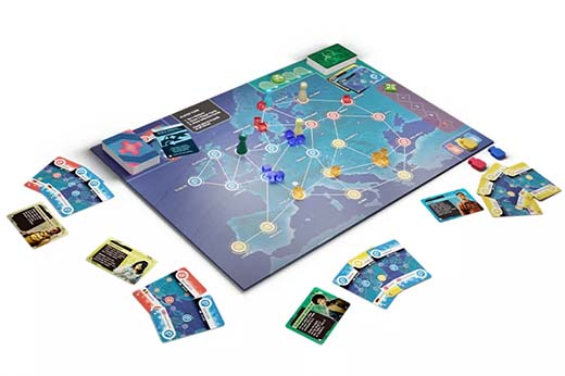 Partida a Pandemic Hot Zone Europe