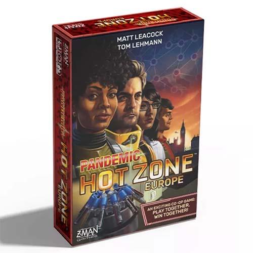 portada de Pandemic Hot Zone Europe