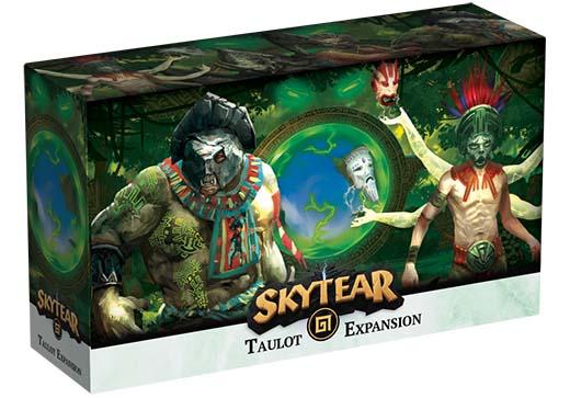 Portada de la expansión de Skytears Taulot