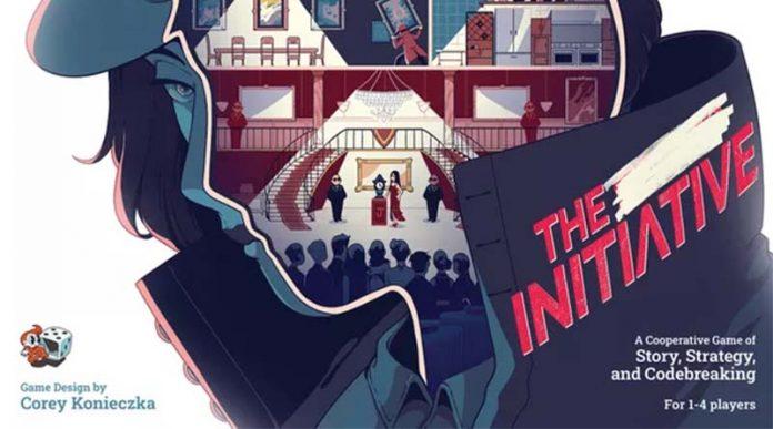 Detalle de la Portada de The Initiative
