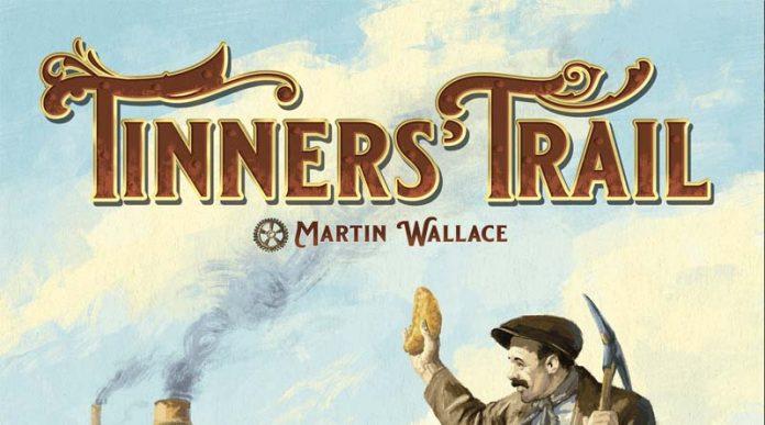 Logotipo de la edición 2021 de Tinners Trail
