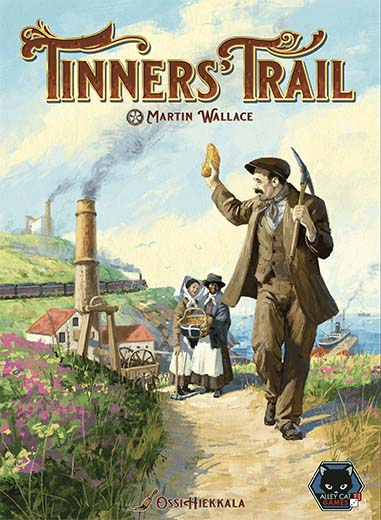 Portada de la nueva edición de Tinners Trail