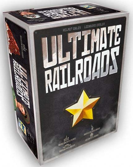 Portada de Ultimate railroads