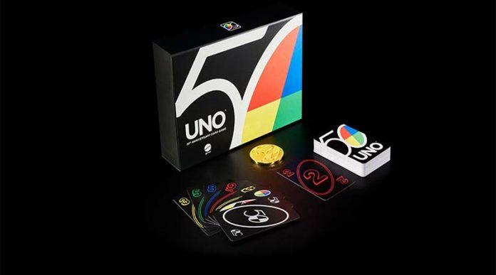 La edición 50 aniversario de UNO