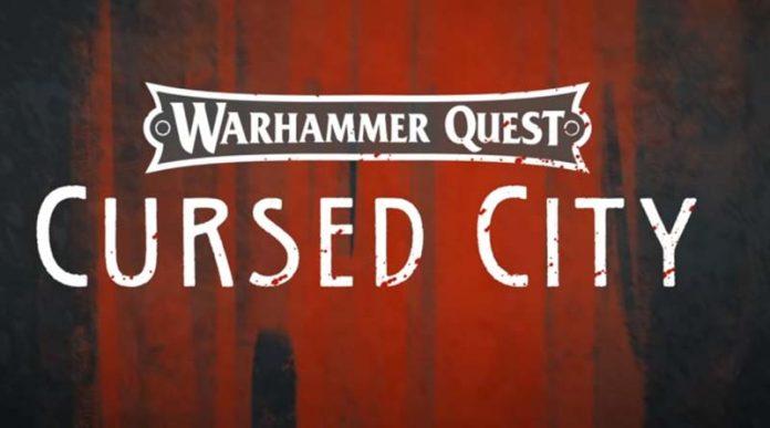 Logotipo de Warhammer Quest Cursed City