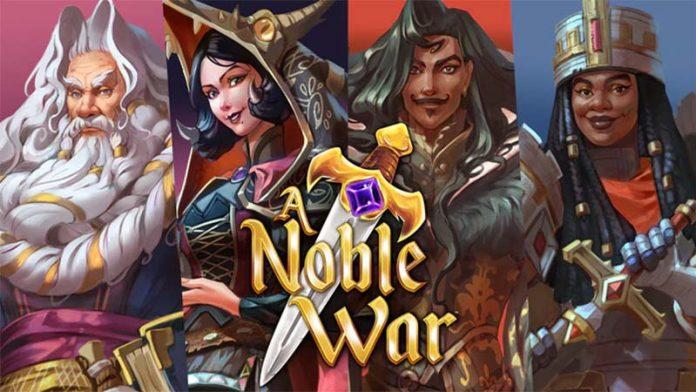 Logotipo de A Noble War
