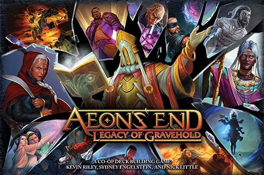 Portada de Aeon's End Legacy of Gravehold