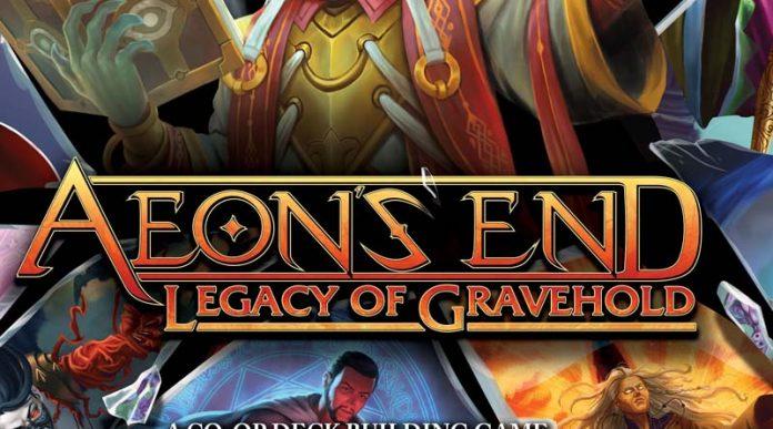 Logotipo de Aeon's End Legacy of Gravehold
