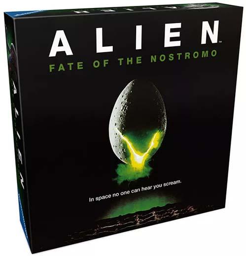 Portada del juego de mesa Alien Fate of the Nostromo