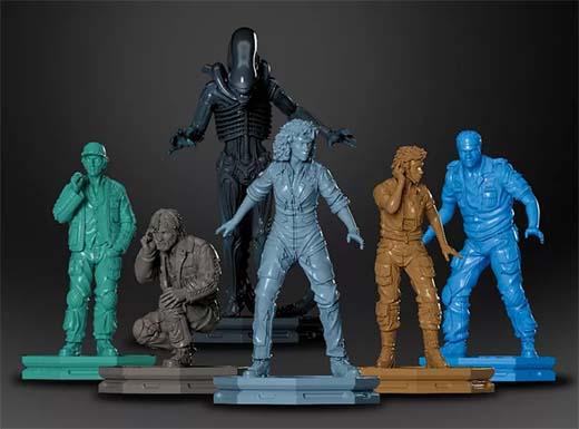 Miniaturas de Alien Fate of the Nostromo