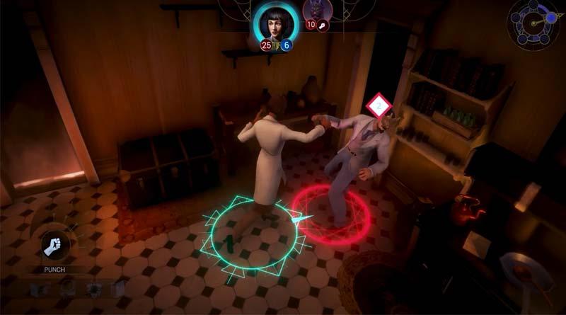 Combate en Arkham Horror Mother's Embrace
