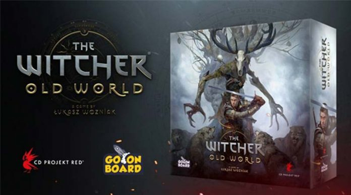 Caja del juego The Witcher: Old World