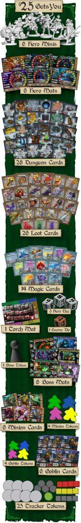 Contenido del juego Pequeños Grandes Dungeons