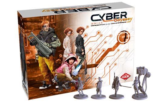 Portada de Cyber Odyssey