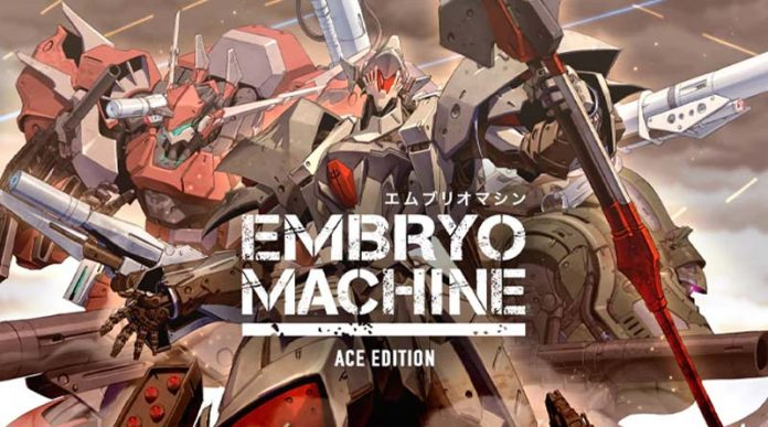 Portada de la edición Ace de Embryo Machine