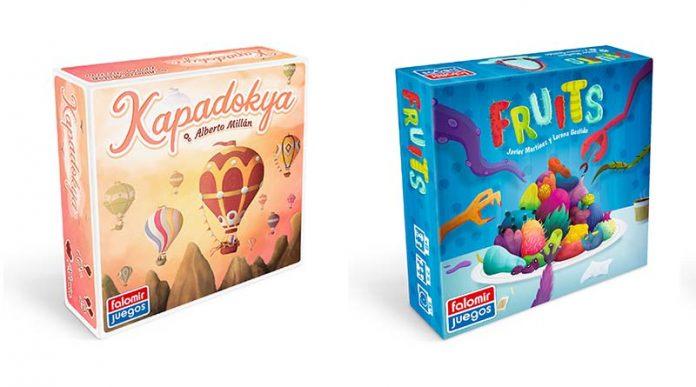 Portadas de Fruits y Kapadokya de falomir juegos