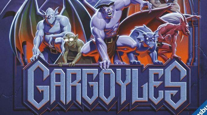 Detalle de la portada de Gargoyles: Awakening