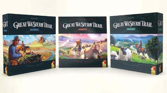 La nueva trilogía de la segunda edición de Great Western Trail