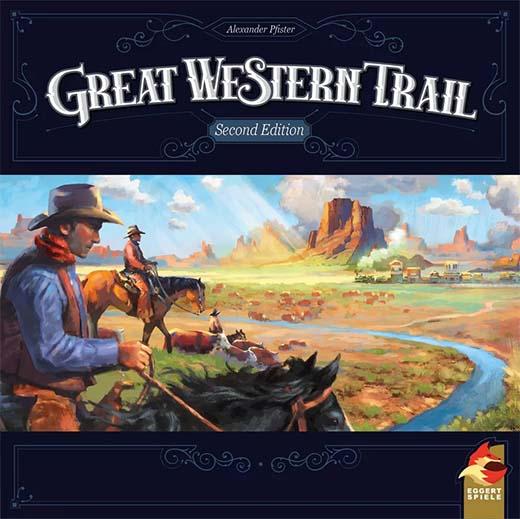 Portada de la segunda edición de Great Western Trail