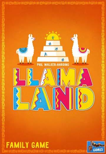 Portada de Llamaland