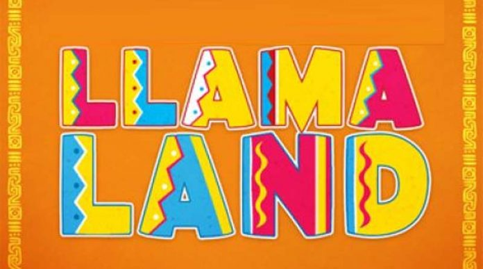 Logotipo de Llamaland