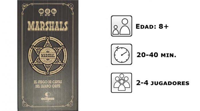 Datos del juego de mesa Marshals