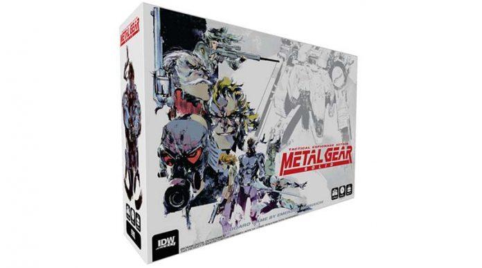 Portada de Metal Gear Solid: The Board game