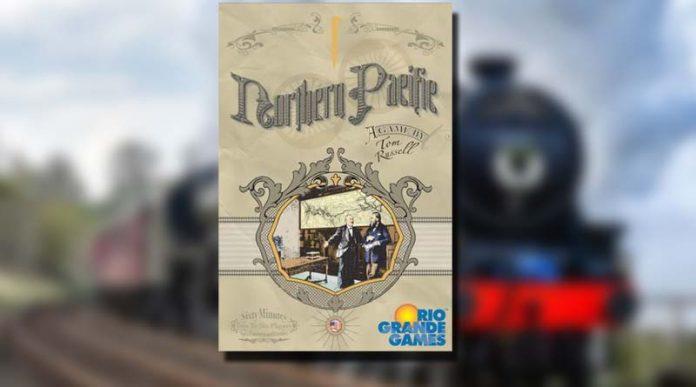 Juego Northern Pacific con fondo tren