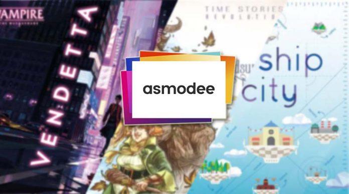 Las novedades de Asmodee Iberica para febrero 2021