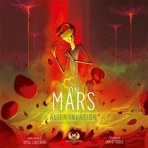 Portada de On Mars: Alien Invasion