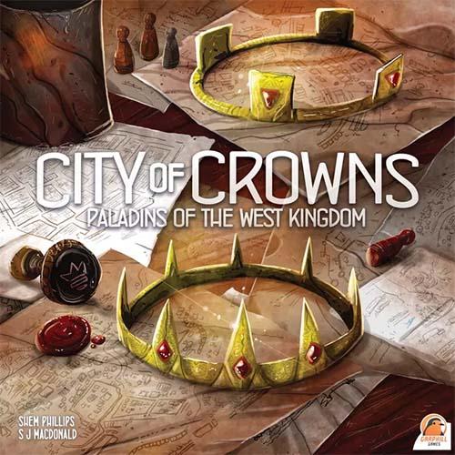 Portada de Paladins of the West Kingdom: City of Crowns