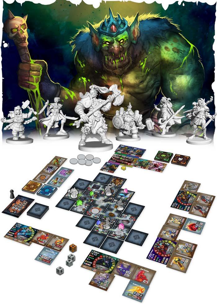 Juego Pequeños Grandes Dungeons