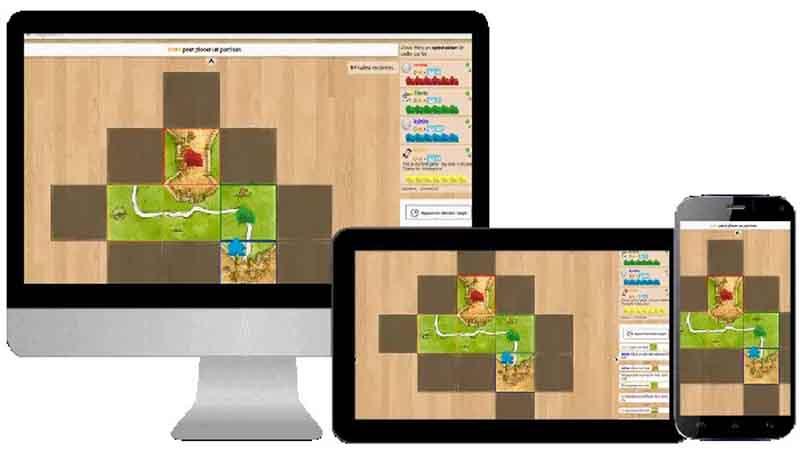 Plataformas de Board Game Arena