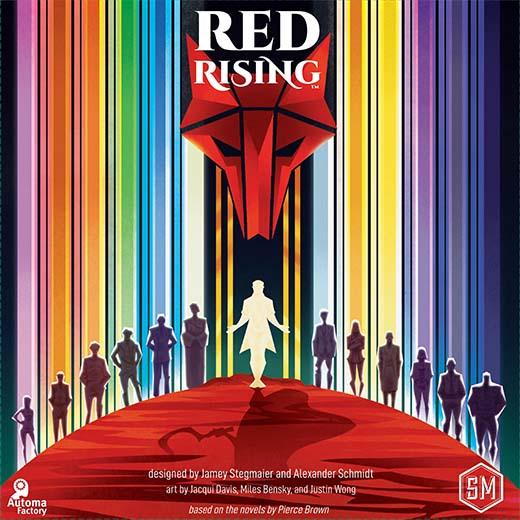Portada de Red Rising