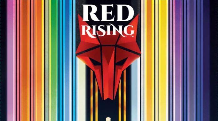 Logotipo de Red Rising
