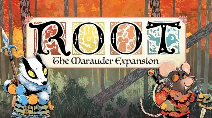 Portada de la expansión de Root the Marauders