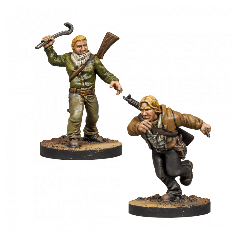 Nuevo booster The Walking Dead: All Out War de Aaron y Eric