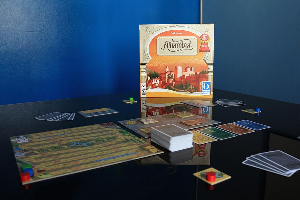 Juego Alhambra de Devir