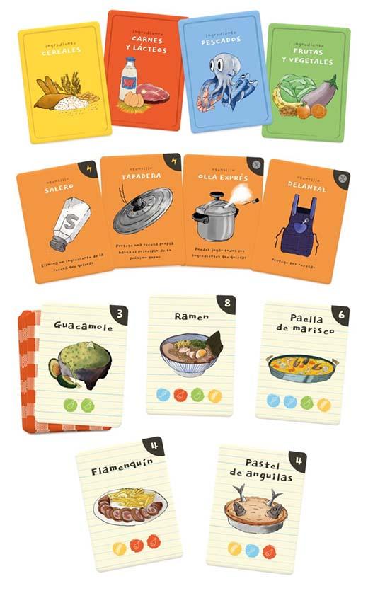 Cartas de Battle of chefs