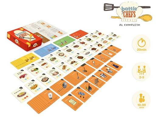 componentes de Battle of Chefs