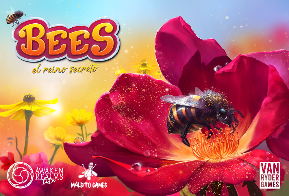 Juego de mesa Bees: el reino secreto de Maldito Games