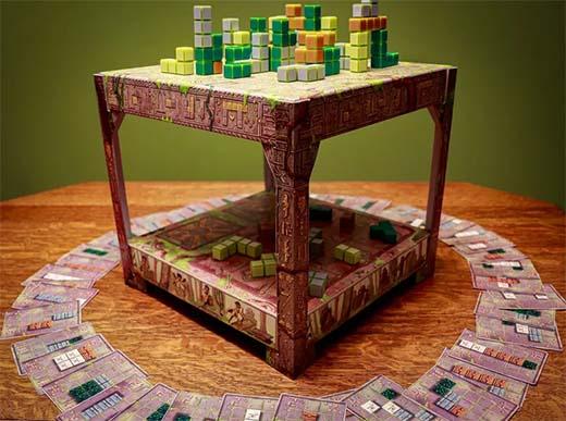 Tablero 3D de Block and Key