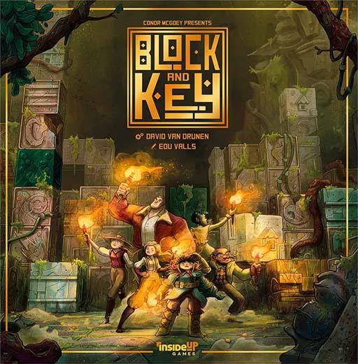 Portada de Block and Key