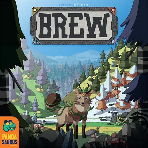 Portada del juego d etablero Brew