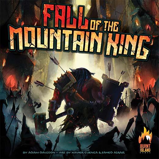 Portada de Fall of the mountain king