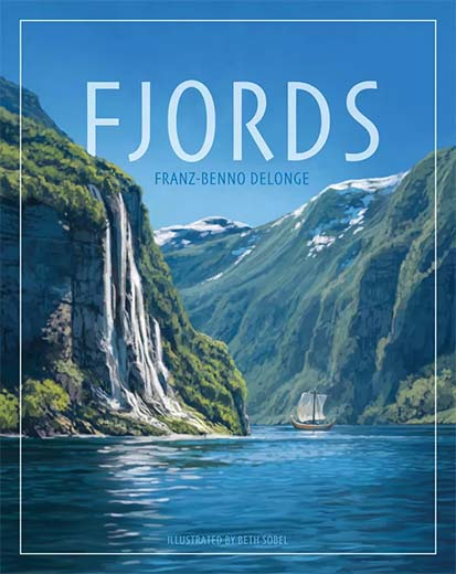 Portada del juego de tablero Fjords